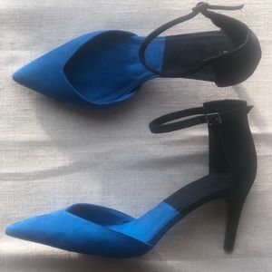 Zara | Basic Collection Color Blocked Heels